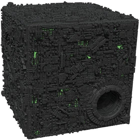 Star Trek Attack Wing: Borg Cube with Sphere Prot Premium Figure