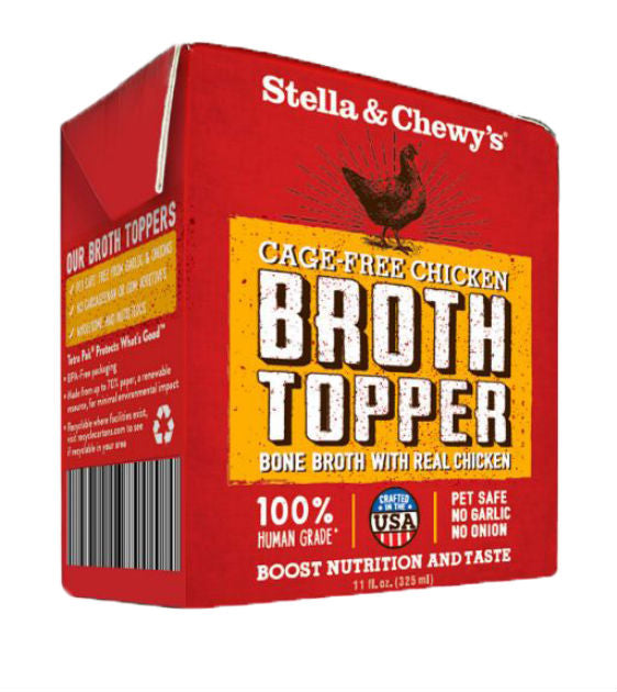 Stella & Chewy's Broth Topper - Cage-Free Chicken Dog Food