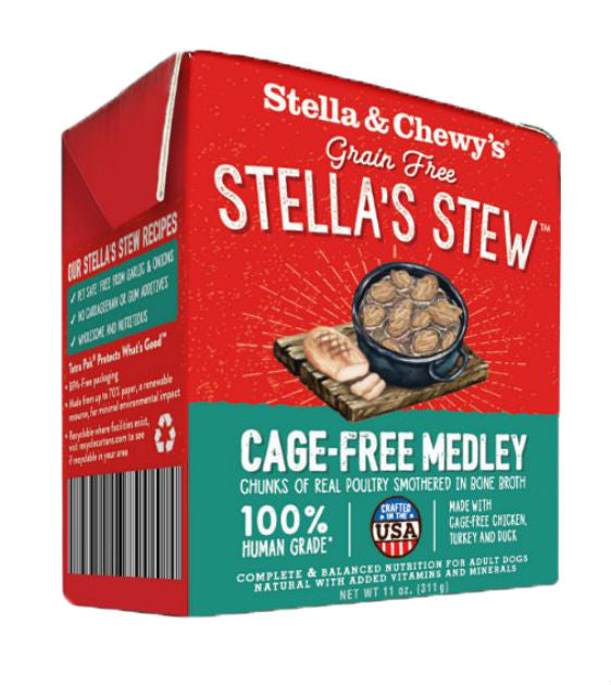 Stella & Chewy's Stews - Cage-Free Medley Dog Food