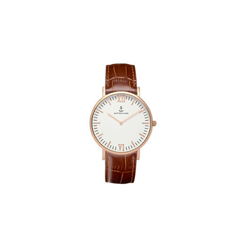 Montre Croco Leather
