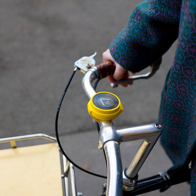 beeline velo yellow on handlebars