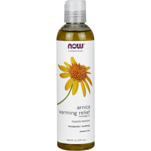 Arnica Warming Relief Massage Oil