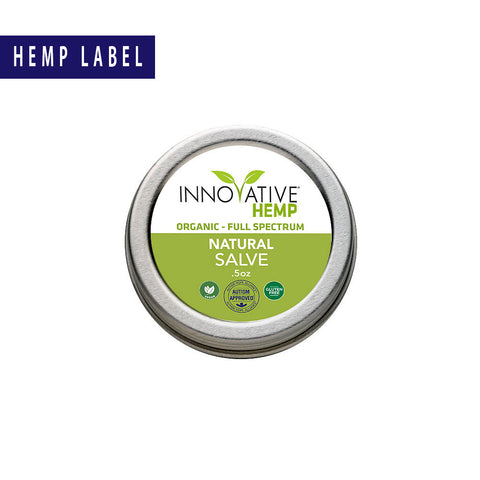 CBD Salve Natural Unscented