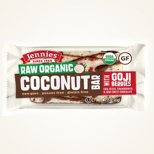 Coconut Bar with Goji Berries