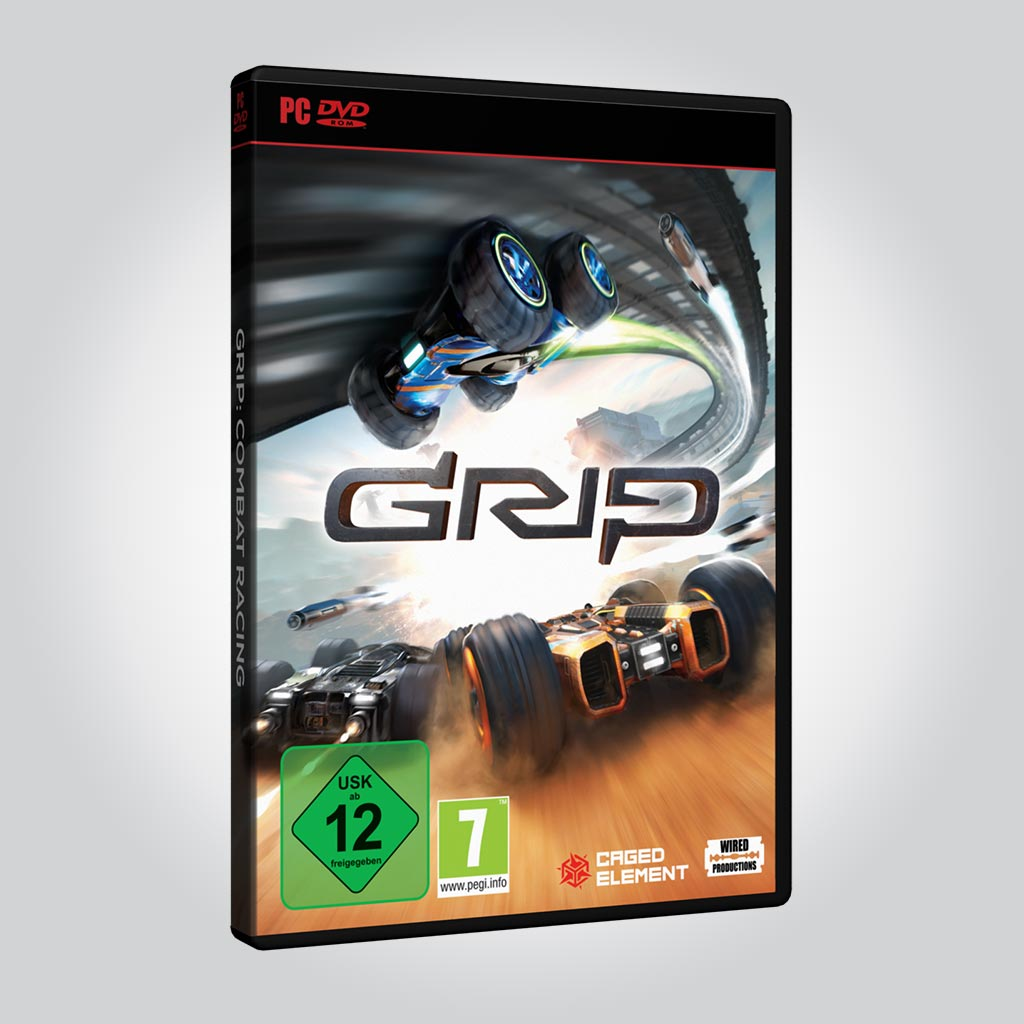 GRIP: Combat Racing [PC] - Wired Productions