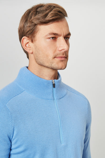 Riviera Merino 1/4 Zip Sweater