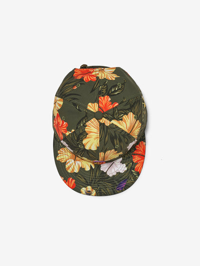 ALOHA FLORAL UNSTRUCTURED 6-PANEL CLIPBACK