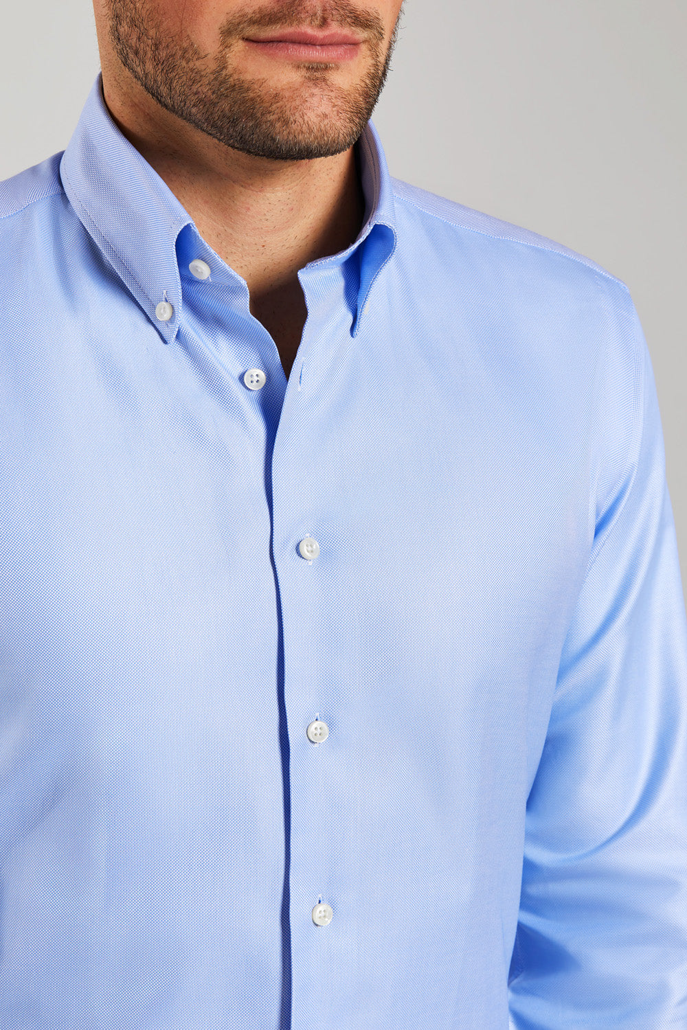 Classic Fit Blue Oxford