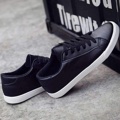My Envy Shop Black / 4 White Board Shoes Casual Shoes Female