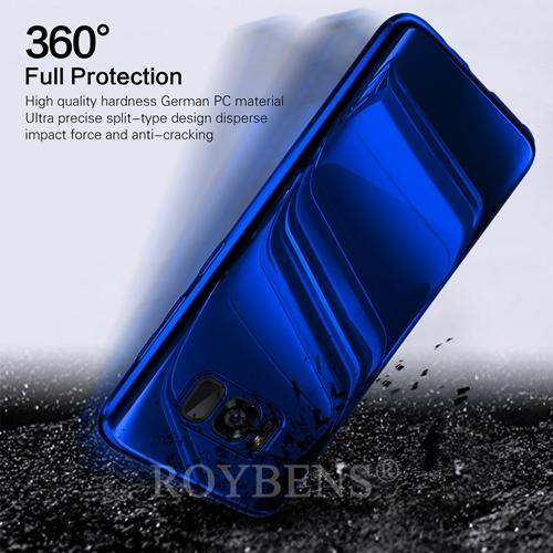Luxury Mirror 360° Ultra Thin Full Protection Case For Samsung