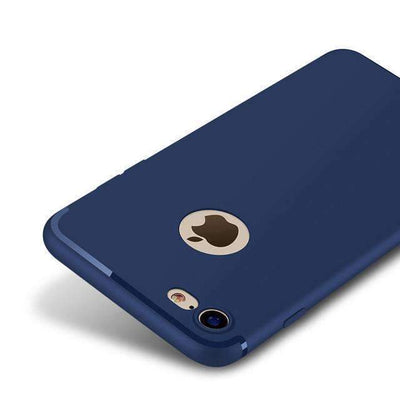 My Envy Shop Dark Blue / For iPhone 6 6s Plus Luxury Back Matte Soft Silicon Case for iPhone7 Cases