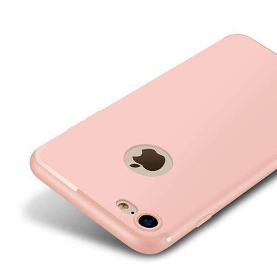 My Envy Shop Pink / For iPhone 6 6s Plus Luxury Back Matte Soft Silicon Case for iPhone7 Cases