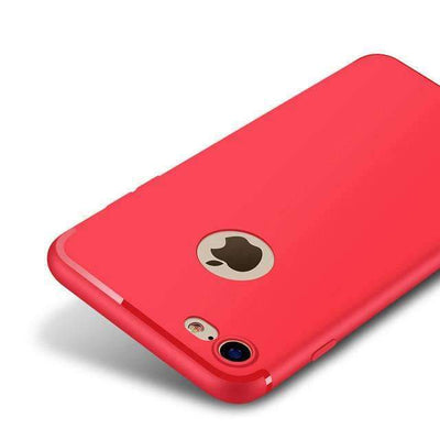 My Envy Shop Red / For iPhone 6 6s Plus Luxury Back Matte Soft Silicon Case for iPhone7 Cases