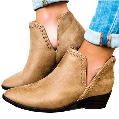 My Envy Shop Vintage Boho Ankle Boots