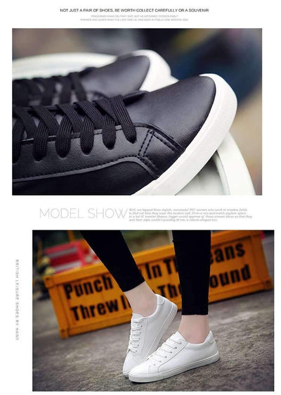 My Envy Shop White Board Shoes Casual Shoes Female