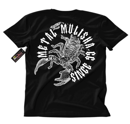 Metal Mulisha Risk T-Shirt Mens Back Black