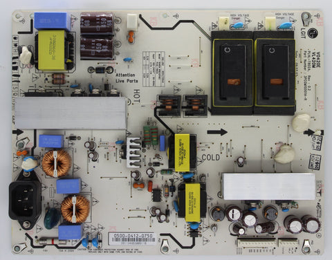 0500-0412-0750 - Power Supply Board - Vizio