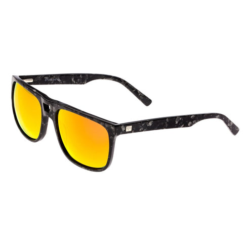 Sixty One Morea Polarized Sunglasses - Black Tortoise/Red-Yellow SIXS134RD