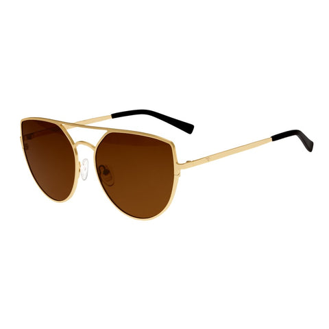Sixty One Boar Polarized Sunglasses - Gold/Brown SIXS144BN
