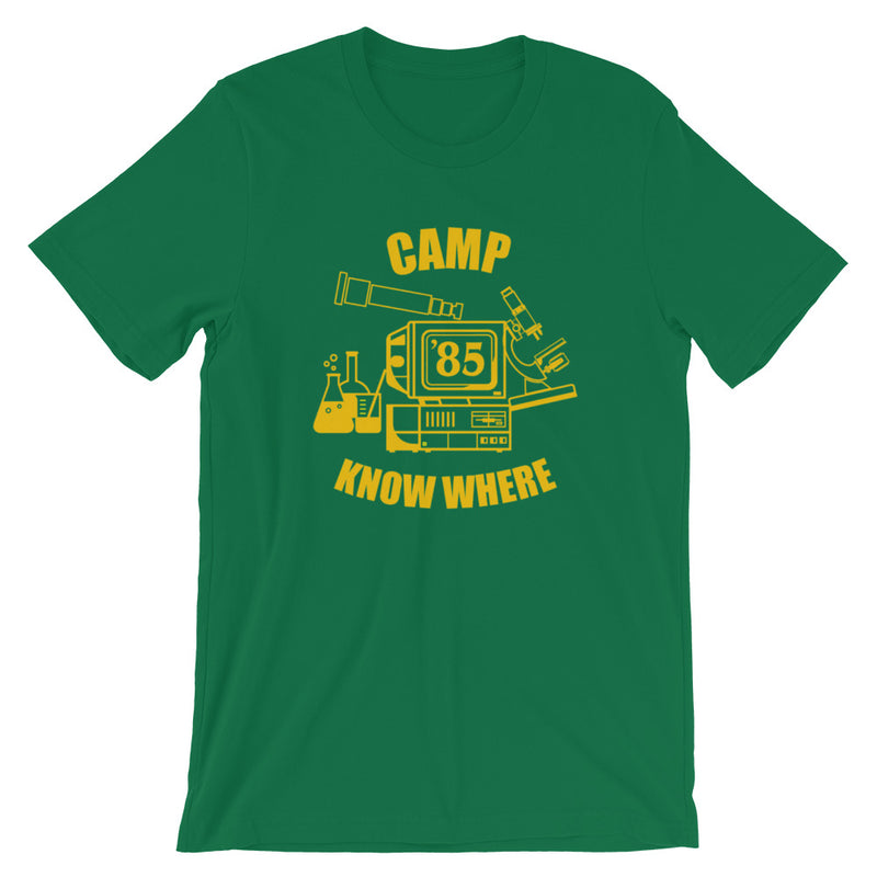 Stranger Things Camp Know Where '85 Short-Sleeve Unisex T-Shirt