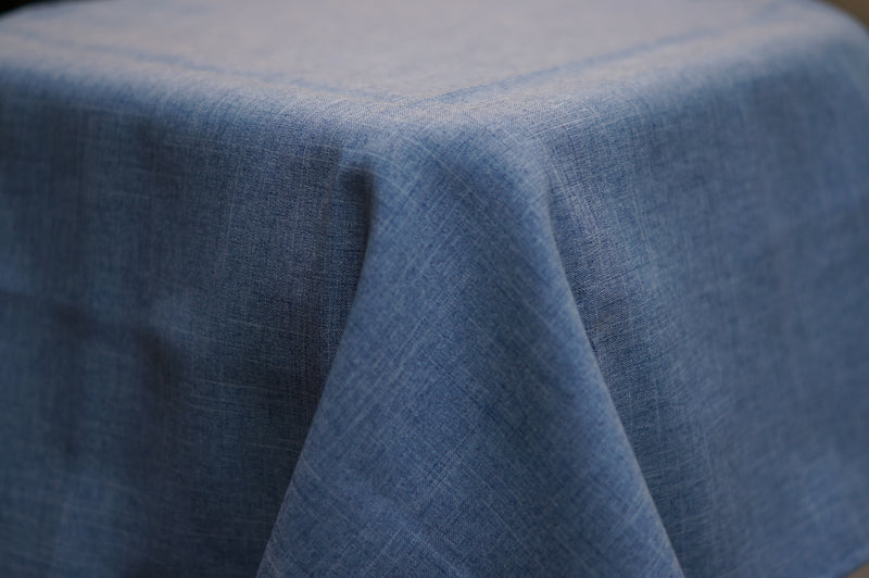 3.9m x 2.6m Chambray Linen Look BANQUET Cloth