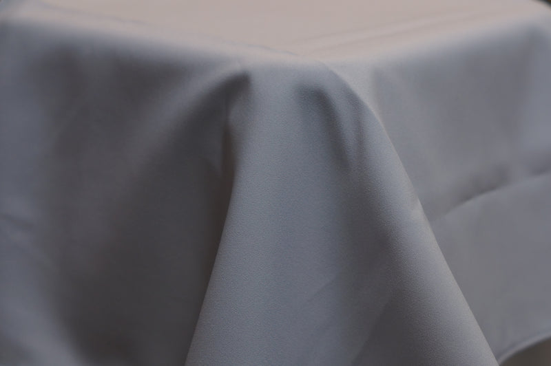 3.3m Silver/Light Grey Round Cloth