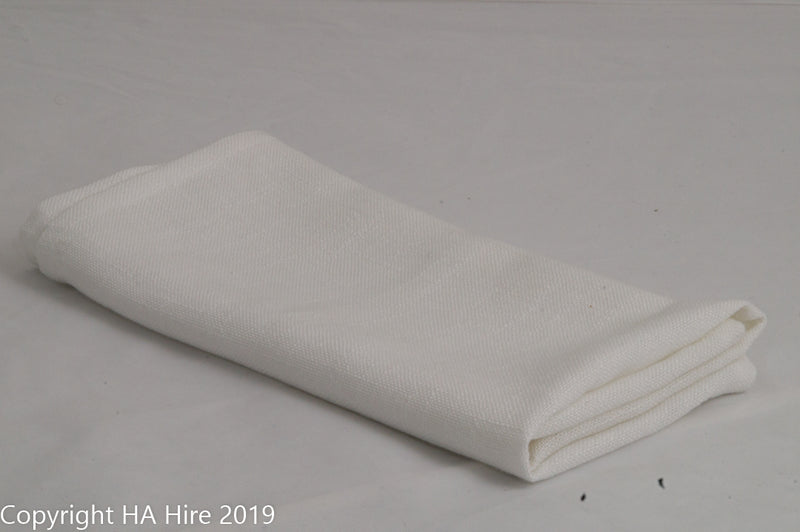 White Natural Linen Napkin