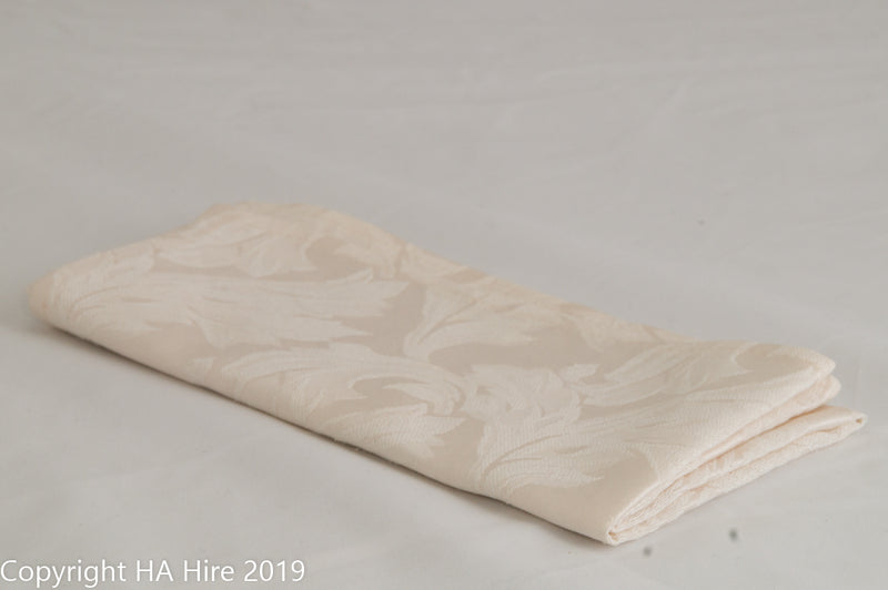 Cream Brocade Napkin