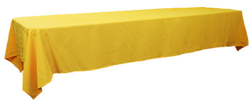 Yellow 3m x 1.45 Trestle cloth
