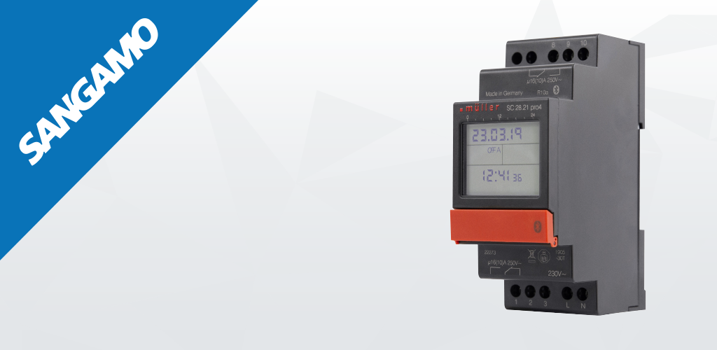 Sangamo launches new Bluetooth time switches