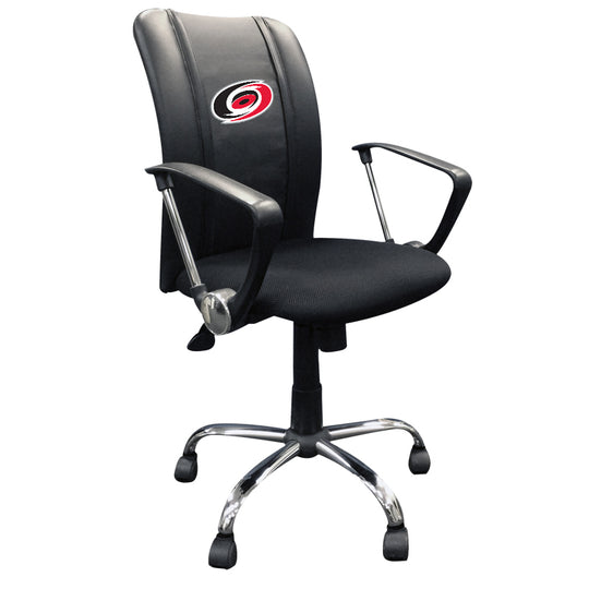 Curve Task Chair with Carolina Hurricanes Logo