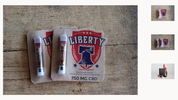 Liberty Full Spectrum CBD Cartridge-750mg