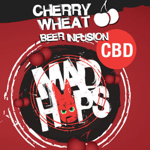 Mad Hops - Beer Infusion CBD - Cherry Wheat