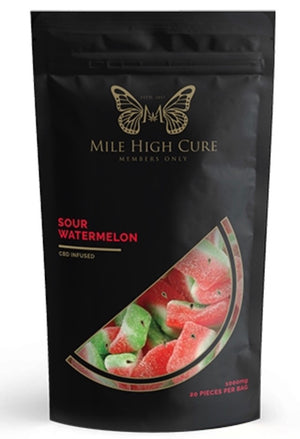 Mile High Cure Gummies All Flavors-1000mg