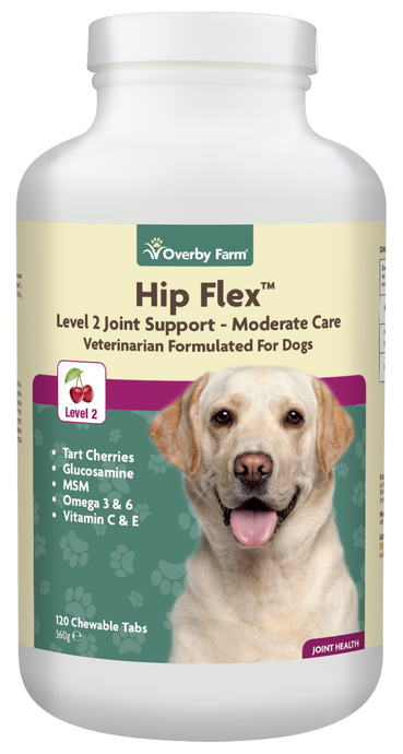 Hip Flex Level 2 for Dogs Chewable Tablets 120pcs