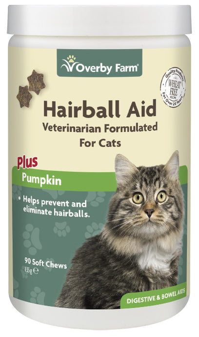 Hairball Aid For Cats Soft Chews 90pcs