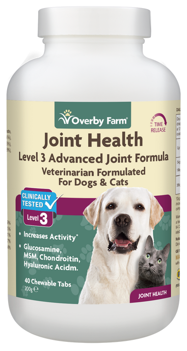 Joint Health Level 3 for Dogs & Cats Chewable Tablets 40pcs