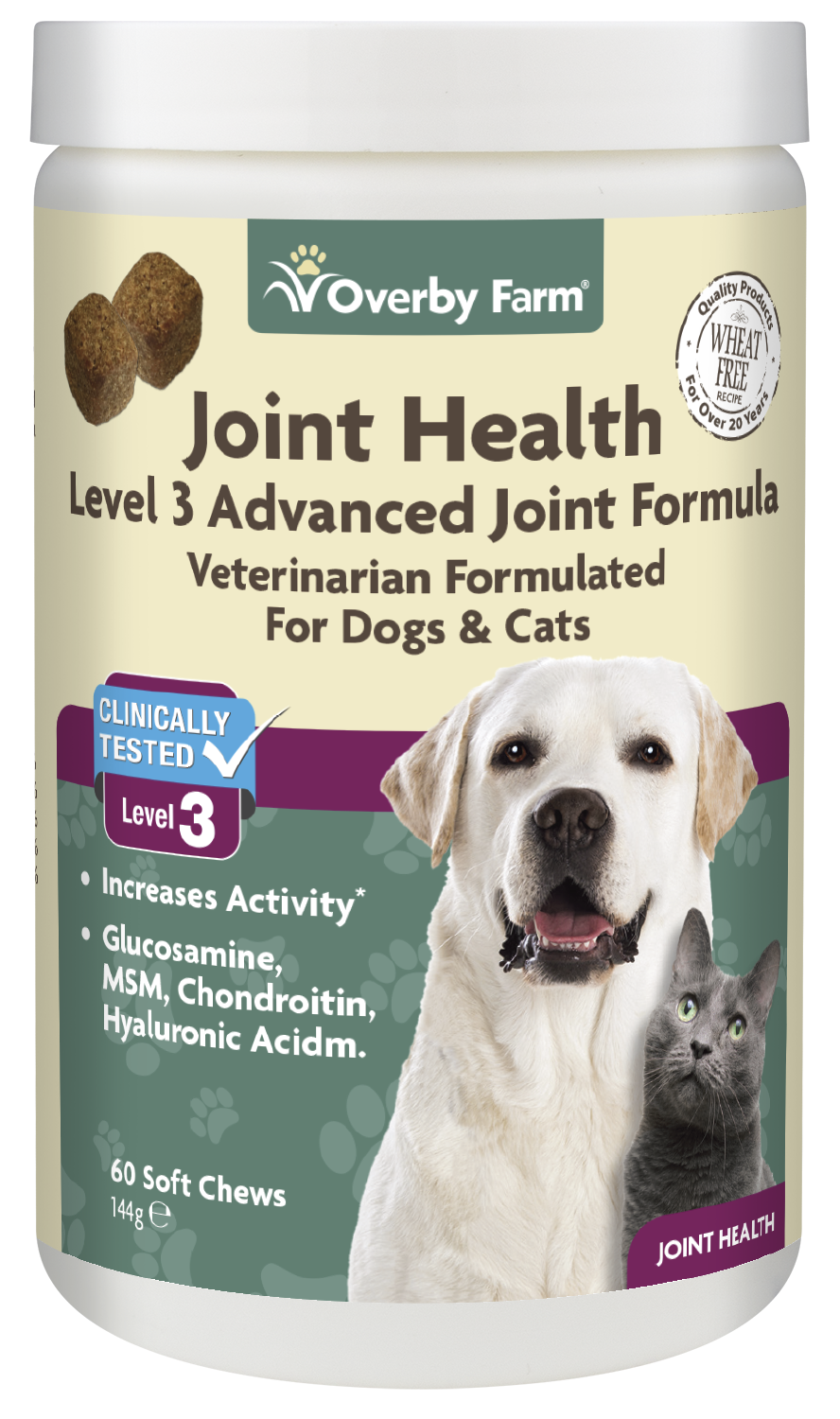 Joint Health Level 3 for Dogs & Cats Soft Chew 60pcs