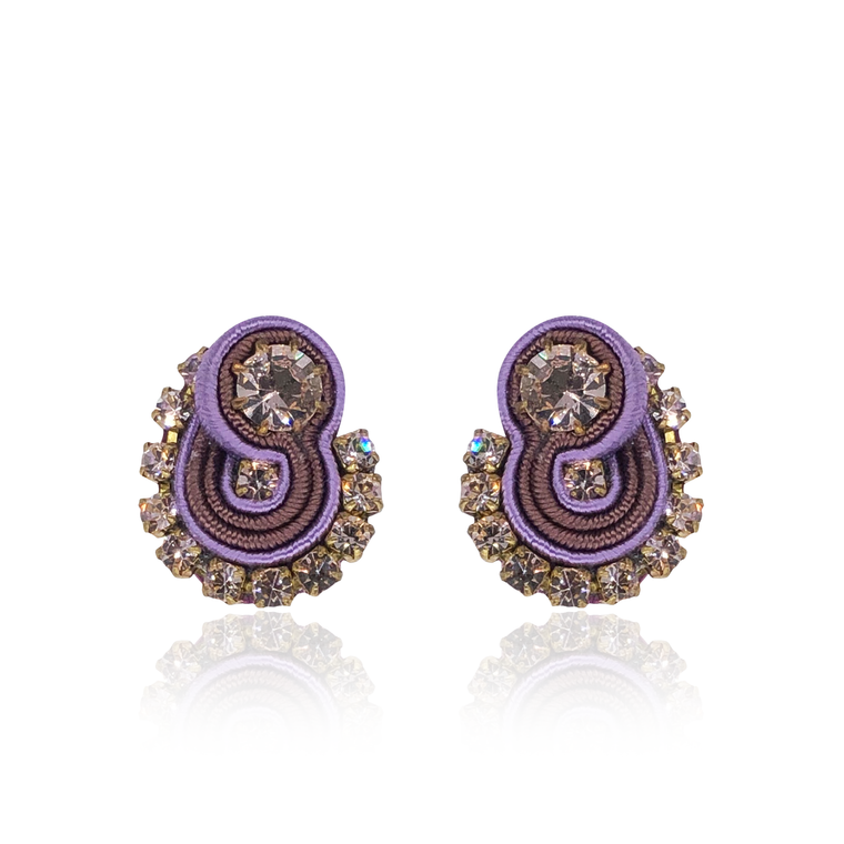 Lilac Mini Mamma Earrings