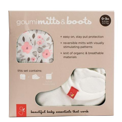 Enchanted Garden goumi Mitts and Boots Bundle