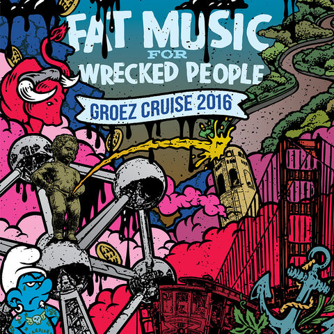 Fat Music For Wrecked People: Groez Cruise 2016