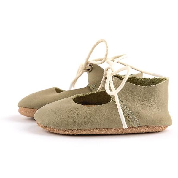 Olive - Lace-Up Mary Jane - Soft Sole
