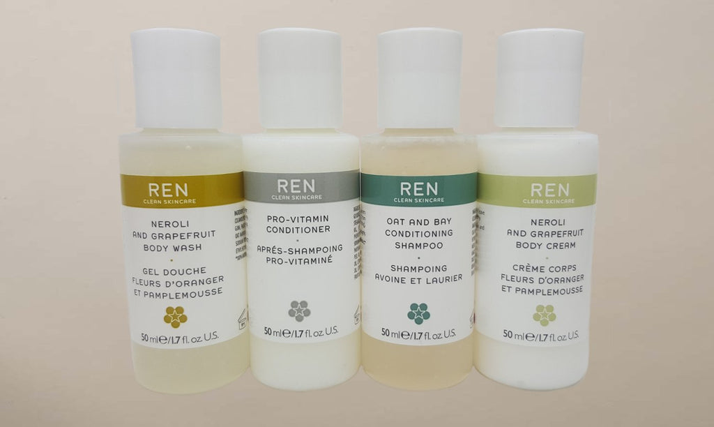 REN Clean Skincare Hair and Body Kit - Pre-Packed Maternity Hospital Bags - Bundle