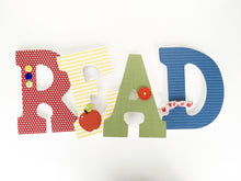 READ Letter Set - Literary Nursery Decor - LetterLuxe - LetterLuxe