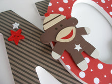 Sock Monkey Letter Set - Disney Nursery Decor for Baby Girls & Boys - LetterLuxe - LetterLuxe