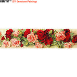 """Wreath of Enchantment"" - Craft-IT™ DIY Gemstone Paintings - Deal-Rush"