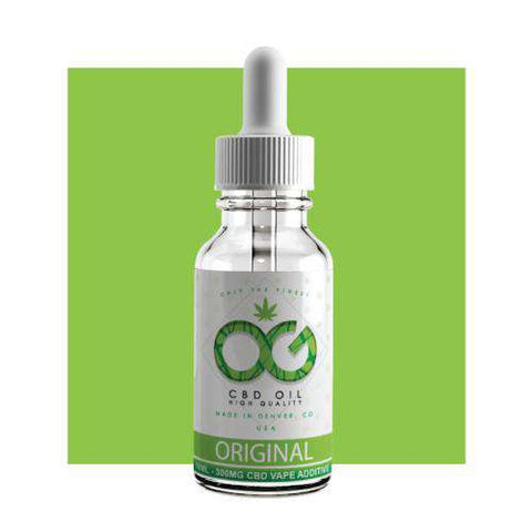 OG CBD Vape Additive 10ml - Original