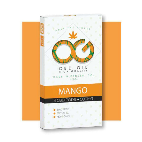 OG CBD Mango Pods (Pack of 4)