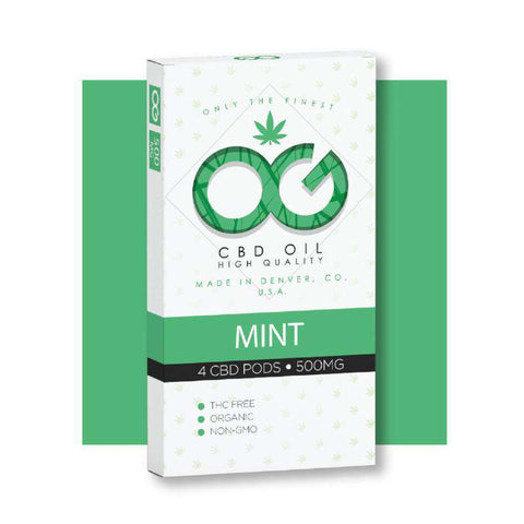 OG CBD Mint Pods (Pack of 4)
