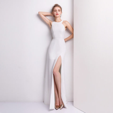Amilus Side Cut Out Gown
